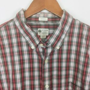 J Crew Tailored Fit Washed Casual button down
